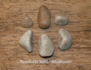 Aventurin-weiß-Muskovit