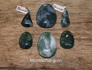 Moosachat-grün-Chalcedon