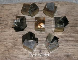 Pyrit-Würfel-